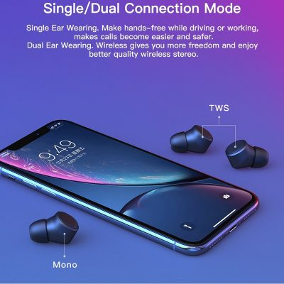 Tai nghe bluetooth true wireless Tiso i4 Trần Du Audio